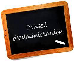 conseil adminsitration